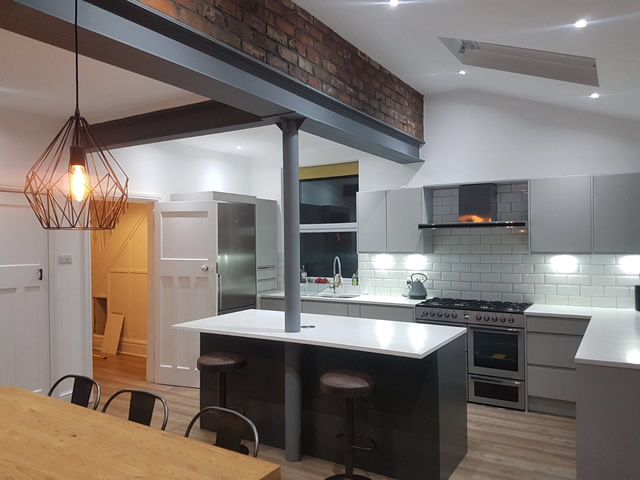 Kitchen and Dining Extension. SB Builders