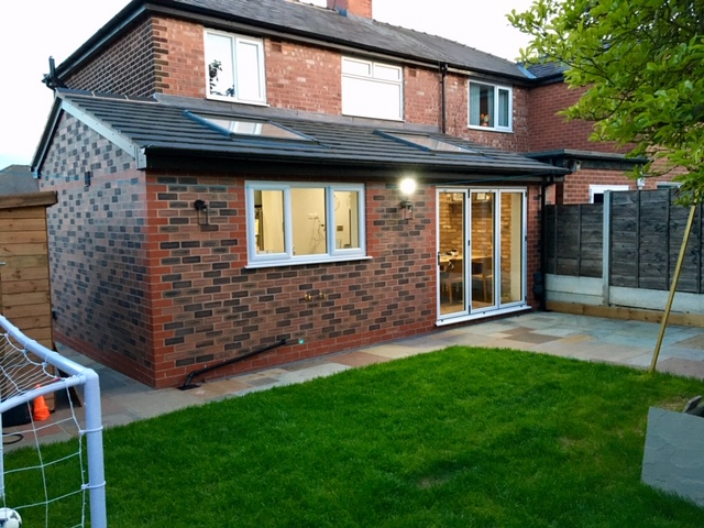 Open Plan Kitchen Diner Extension, Swinton, Greater Manchester. SB Builders