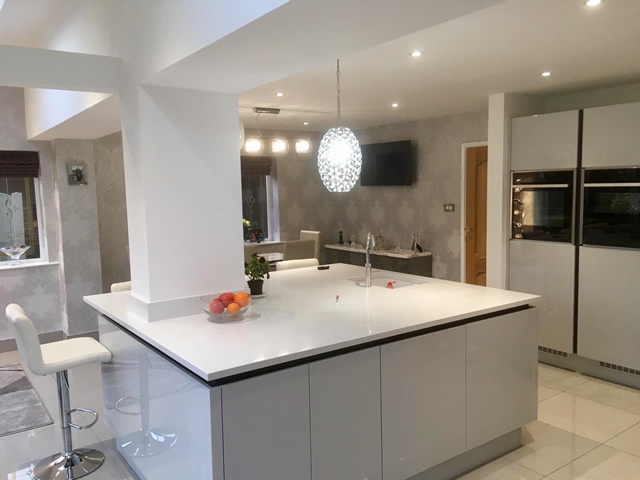 Open Plan Living Space Extension, Bolton. SB Builders